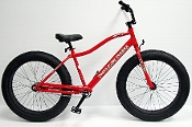 Fat Bike, Fat Tire Bike, Sand Bike, Beach Bike Cruiser, 4 inch tire, 26 x 4.0, Spyder bike, Surly