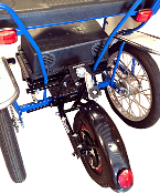surrey bike electric pedal assist